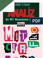 Analiz - Mehmet Eymür