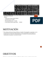 Trabajo de Investigacion de Calculo II