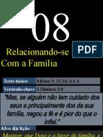 Lição 08 - EBD Discipulando Vivendo as Verdades Bíblicas