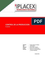 Examen control de la produccion