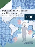 Pensamiento Critico en Iberoamerica Teoria Intervencion Transdisciplinar AlonsoCampiran 2021