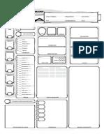 D&D 5e Character Sheet RUS