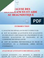 Analyse Des Défaillances Et Aide Au Diagnostique