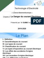 Chap 1 Le Danger Du Courant Electrique - Copie