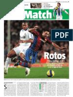 BARÇA - Barça 0, Real Madrid 1