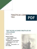 tematicas Test Relaciones objetales (TRO) Phillipson Convertido