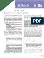 Português - Vol. 2 - REDAÇÃO TERCEIRO ANO (PLANEJAMENTO) QUINHENTISMO BARROCO - PRONOME VERBO