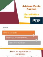 Clase 3. Datos No Agrupados y Medidas de Tendencia Central y Dispersión - Copia