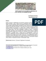 A IMPORTANCIA DA DIGITALIZACÃO DOS DOCUMENTOS MEMORIAIS DA BIBLIOTECA CENTRAL ZILA MAMEDE (