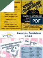 Dépliant Journee Des Associations 2021