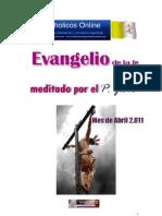 EVANGELIOS -ABRIL | 2011