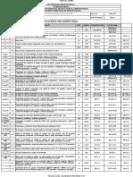 Anexo XI - Orçamento Estimativo e Cronograma