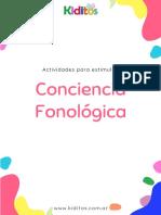 0- KIDITOS - Conciencia Fonológica