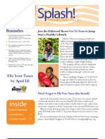 Oakwood Shores April Newsletter