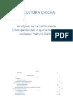 LA CULTURA CHICHA