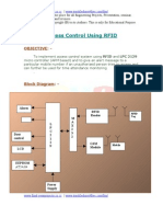 Access Control Using RFID