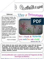 Jornal Escolar - Páscoa 2011