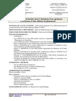 Dossier Ouverture officine de pharmacie - MINSANTE-DPML Cameroun