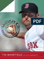 Knuckler by Tim Wakefield with Tony Massarotti Exceprt