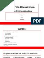 S.O Multiprocessados