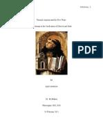 Thomas Aquinas and the Five Ways