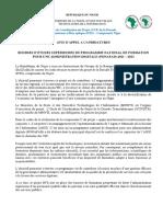 Bourses ETUDES Supérieures - ANSI