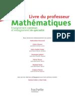 Calao Maths Terminale Spécialité STI2D, STL Livre Du Professeur 2