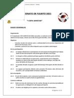 Campeonato de Fulbito 2021- Bases