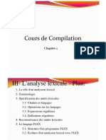 Chapitre 2-Analyse Lexicale