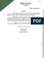 Acórdão entre Alexandre de Moraes e Roberto Jefferson