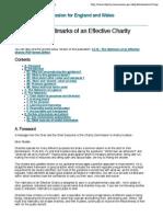 CC10 - The Hallmarks of an Effective Charity