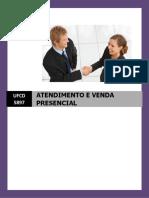 Manual Ufcd 5897 Atendimento e Venda Presencial