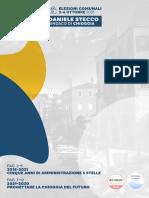 Programma elettorale Daniele Stecco sindaco
