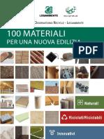 Cento Materiali Rapporto Osservatorio Recycle
