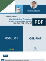 Slides do Módulo I GIIL-RAT