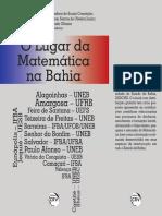Livro 2020 o Lugar Da Matemática Bahia