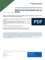 CP 2021.09.01 Incident d'Alimentation Électrique Sur Le Secteur d'Ajaccio VF