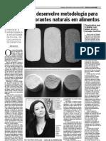 Artigo - Unicamp - Corantes Naturais e Ciclodextrina