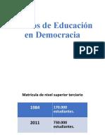 Power 1 30 años de Democracia