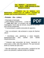 Culto Páscoa noite Jaraguá - 04.04.21
