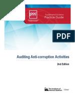 Auditing Anti Corruption Activities
