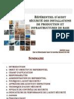 2- Présentation approche référentiel Audit et Inspection Sécurité