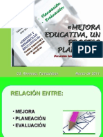 La Mejora Educativa Un Proceso Planeado