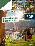 Zimmer- Und Gastronomieverzeichnis