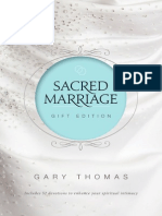 Sacred Marriage Gift Edition by Gary Thomas, Excerpt