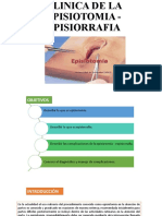 CLINICA DE LA EPISIOTOMIA - EPISIORRAFIA