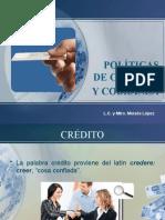 Políticas de Crédito y Cobranza