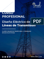 3. Invitación Curso Profesional Diseño Eléctrico de Líneas de Transmisión
