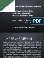 17-Aula 1 - Arte Na Idade Media - Romanico