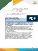 Guia de actividades y Rúbrica de evaluación Fase 1 Reconociendo el camino a recorrer